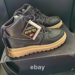 Nike Air Force 1 GTX GoreTex Boot Anthracite CT2815-001 Men's Size 12