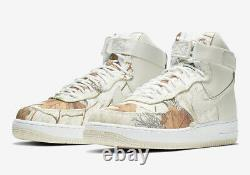 Nike Air Force 1 High 07' Lv8 3 Realtree Ao2410-100 Men's Size 15