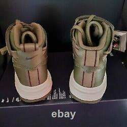 Nike Air Force 1 High GTX Boot Olive CT2815-201 Men's Size 7 Wmns 8.5 GORE-TEX