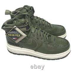Nike Air Force 1 High GTX Boot Olive CT2815-201 Size 10.5 Goretex Army Green