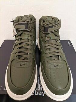 Nike Air Force 1 High GTX Boot Olive CT2815-201 Size 8.5 Goretex Army Green
