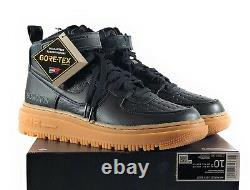 Nike Air Force 1 High Gore-Tex Boot'Black Gum' Men's Boots Size 10.5 CT2815-001