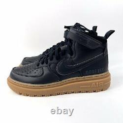 Nike Air Force 1 High Gore-Tex Boot CT2815-001 Mens Size 12 Black Gum New GTX