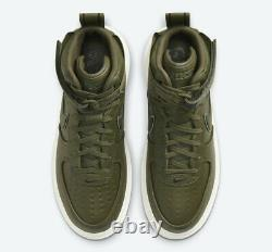 Nike Air Force 1 High Gore-Tex Boot Olive Green Shoes Gym CT2815-201 Size 12