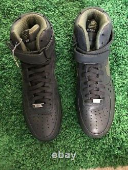 Nike Air Force 1 High Premium Charles Barkley Anthracite Army 317312-031 Size 11