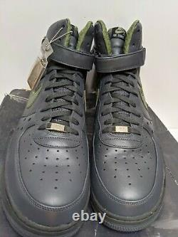 Nike Air Force 1 High Premium Charles Barkley Anthracite Army 317312-031 Size 15