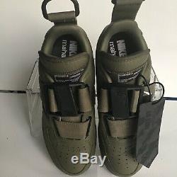 Nike Air Force 1 Low PRM ID Maharishi Army Green-Black Wmns. Sz. 8 (AV5228-992)