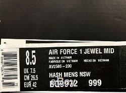 Nike Air Force 1 Mid Jewel Camo AV2586-200 Size UK 7.5 EU 42 US 8.5 New