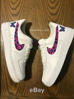 Nike Air Force 1 Size 9 Men (10.5 Women) Custom White Camo