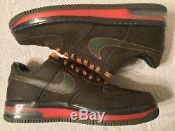 Nike Air Force 1 Supreme Max Air 07 Mens 12 Berlin Dark Army Olive 316666 331