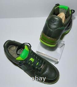 Nike Air Force 1 Supreme Max Air Dark Army Green Mens Size 9 316666-333 Retro