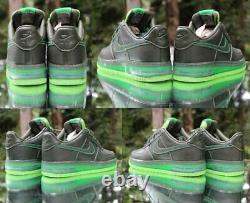 Nike Air Force 1 Supreme Max Air Dark Army Mens Size 9 Green 316666-333