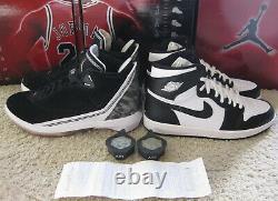 Nike Air Jordan 1 22 Retro Shoes 2008 Black White CDP Countdown Pack 6 11 Men 10