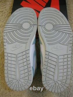 Nike Air Jordan 1 Retro High OG Shoes Turbo Green White Court Purple I Men 10.5