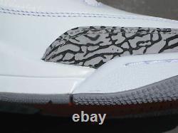 Nike Air Jordan 3 III Retro Shoes 2011 True Blue White Red Black Cement 4 Men 10