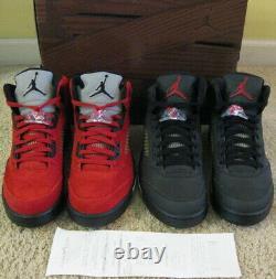 Nike Air Jordan 5 V Retro Shoes DMP Defining Moments Pack Black Red 6 11 Men 10