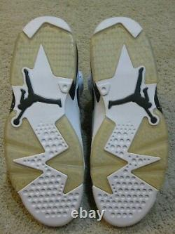 Nike Air Jordan 6 VI Retro Shoes 2010 White Black Oreo Travis Scott DMP 1 Men 10