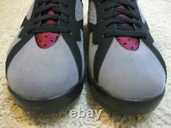 Nike Air Jordan 7 VII Retro Shoes 2011 Bordeaux Black Gray Bin 23 Olympic Men 10