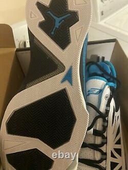 Nike Air Jordan CP3 IV 4 Shoes 2010 White Orion Blue Chris paul PE Men 11.5