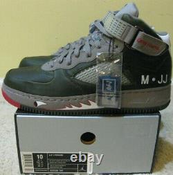 Nike Air Jordan V Retro Force 1 Fusion AJF 5 Premier Shoes Grey Nurse Red Men 10