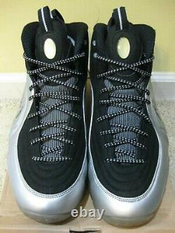 Nike Air Max 1/2 Cent Shoes 2009 Black Silver Penny Foamposite One Pro Men 10.5