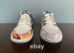Nike Dunk Low SE GS Sail Multi-Camo Size 6Y/Women's Size 7.5 DB1909-100