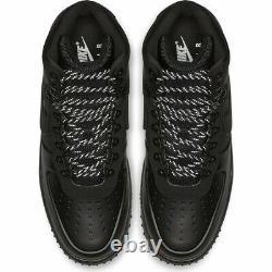 Nike Lunar Force 1 Duckboot 18 Triple Black BQ7930-003 Men Shoes 100%LEGIT HiTop