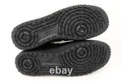 Nike Mens 11 Air Force 1 Gore-tex High Triple Black CQ7211-003 Shoes Sneakers
