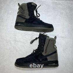 Nike SF AF1 Mens High Air Force 1 Olive Camo Boots 864024-004 Size 10 New
