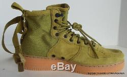 Nike SF Air Force 1 Mid Desert Moss Green Sneakers Shoes 917753-301 Size 10