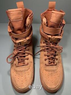 Nike SF Special Field Air Force 1 High Dusty Peach Shoe 864024-204 Men's Size 11