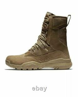 Nike SFB Field 2 Military Tactical Combat Boots 8 Leather Coyote AQ1202-900