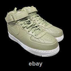 NikeLab Air Force 1 Mid'Urban Haze' Green White Army 819677-300 Mens Size 10.5