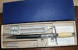 Original DDR East German Army Air Force Border Guard Officer Dagger 071424