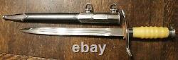 Original DDR East German Army Air Force Border Guard Officer Dagger 083408