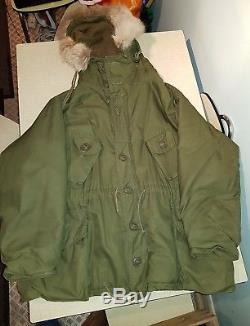 Original Vintage 1970 Issue British Army Parka Jacket Peerless Canadian