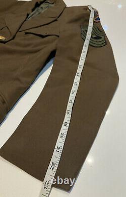 Original WWII U. S. Army 14th Air Force ANC WAC WAAC Nurse Brown Jacket Patch