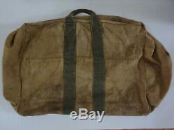 Original WWII USAAF Aviator's Kit Bag AN6505-1 Army Air Force Emblem Stamp Rare