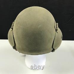 Original WWII WW2 US ARMY Air Force Flack Helmet AAF Bomber Air Corps