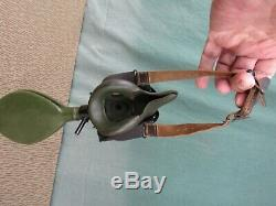 Original World War Two U. S. Army Air Forces B-17 bomber style A-8-B Oxygen Mask