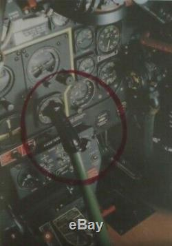 Original Wwii Army Air Force Fighter Pilot's Stick, Grip P-40, P-47, P-51 Vg