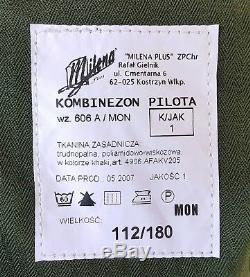Pilot Mil-spec Suit Fire Retardant -polish Army Military Aircraft Helicopter 180