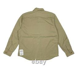 Polo Ralph Lauren Army Military Shirt / Jacket Beige / Sand Large L BNWT