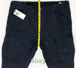 Polo Ralph Lauren Aviator Cargo Pants SLIM USA Navy Size's 34 & 36