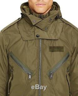 Polo Ralph Lauren Men Military Army Air Force Flight Bomber Pilot Aviator Jacket