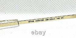 RANDOLPH ENGINEERING AVIATOR 23K Gold Tan Lens 55mm BAYONET USA