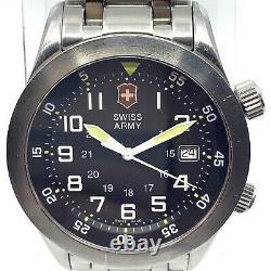 RARE 40MM Victorinox 24041 Airboss Mach 2 Swiss Air Force Swiss Army Watch