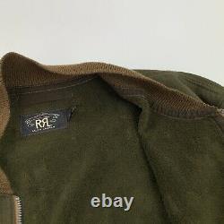 RRL Ralph Lauren (XL) Wilkins Herringbone Military Air Force Bomber Jacket