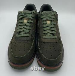 Rare Mens Nike Air Force 1 Supreme Max Air Berlin Dark Army Olive Size 10.5