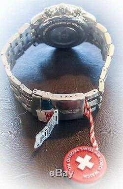 Rare! New Victorinox Swiss Army Official Air Force Watch FA-18 Auto Chronograph
